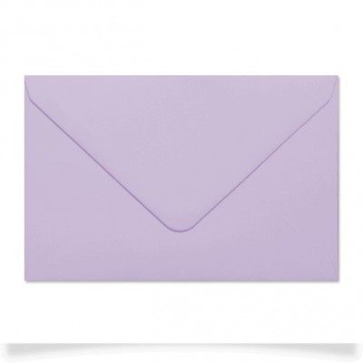 Enveloppe rectangle Lilas