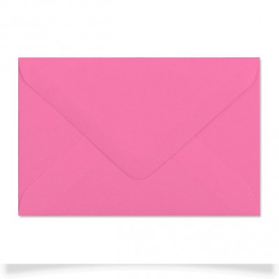 Enveloppe rectangle Fuschia