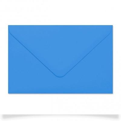 Enveloppe rectangle Bleu Vif