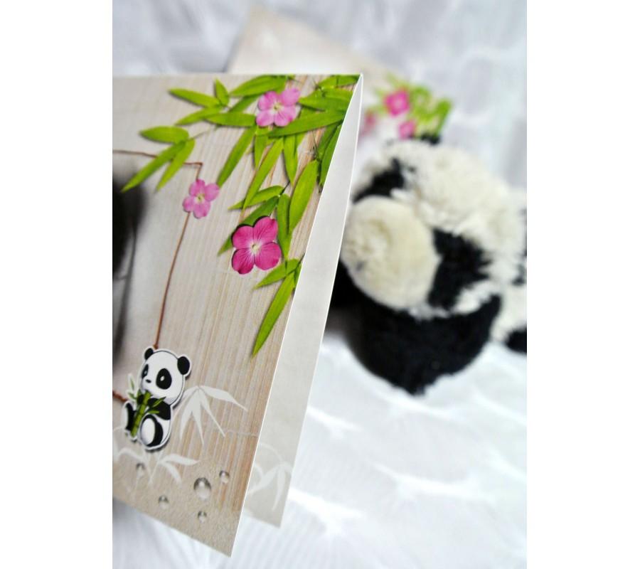 Souvent Faire-part de naissance petit panda LE55