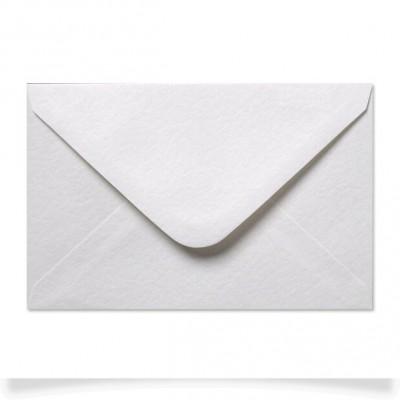 Enveloppe rectangle Blanc Texturé