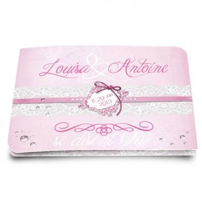 Faire-part Marie-Antoinette
