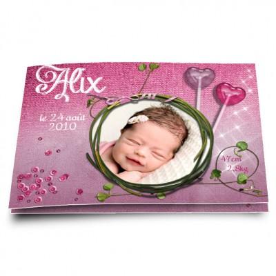Faire-part Alix