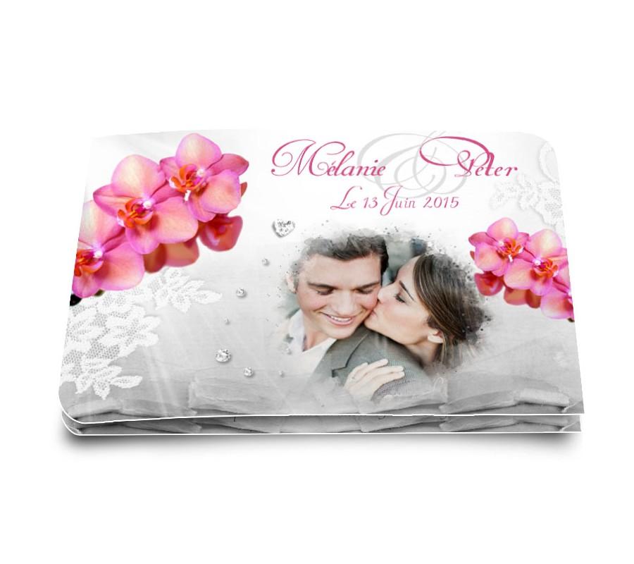 Faire part mariage orchid e - Salon creation et savoir faire billet gratuit ...