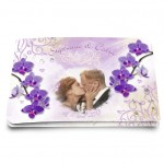Ech Mariage ORCHIDEES - Satin