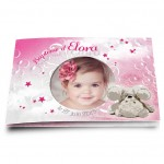 Faire-part Nounours Rose
