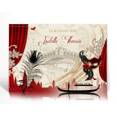 Livre d'or personnalisé Venise