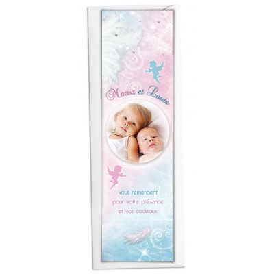 Marque-page Jumeaux Petits Anges