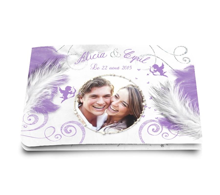 Faire part mariage anges - Salon creation et savoir faire billet gratuit ...