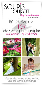 Promotion photographe mariage naissance
