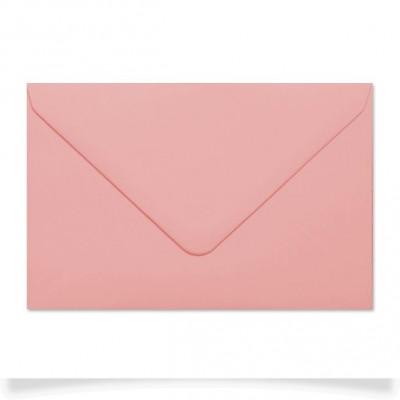 Enveloppe rectangle Rose dragée