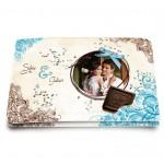 Echantillon Mariage Chocolat - Papier Mat