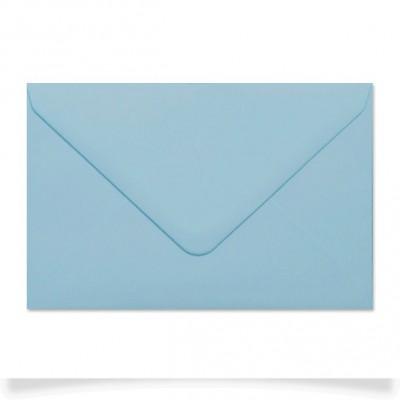 Enveloppe rectangle Bleu Layette