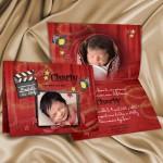 Faire-part naissance cinema